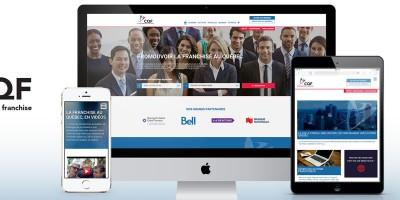 Nouveau Site Web CQF par CMS